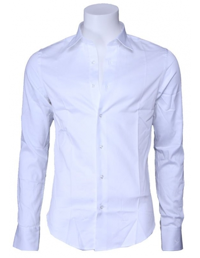 Overhemd Zumo - Doron slim fit - Wit / White