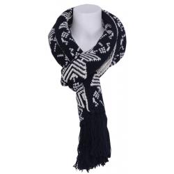 Snow star sjaal - Zumo - Accessoires - Zwart