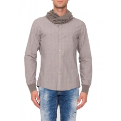 Natural wood blouse - Antony Morato - Blouses - Beige - Antony Morato - Overhemden - Beige