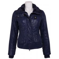 Blauwe-paarse jas - Amy Gee - Jassen - Blauw