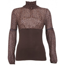 Taille truitje Amy Gee Shirts en tops Bruin