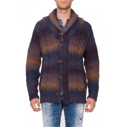 Knitted cardigan AM - Antony Morato - Truien en vesten - Blauw