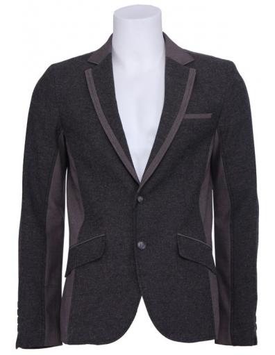 Natural wood jacket - Antony Morato - Jassen - Bruin