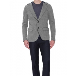 Single breasted wool jacket - Antony Morato - Jassen - Grijs