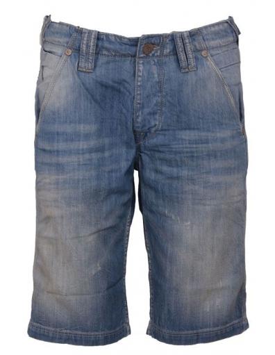 MANTZ SHORT - Pepe Jeans - Broeken - Blauw