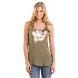 abbey ggt - Guess - T-shirts & Tanktops - Bruin - Guess - T-shirts & Tanktops - Groen