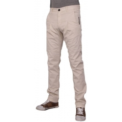 Agostino - Pants Small Pleat - Zumo - Broeken - Ecru
