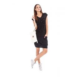 Glitter - Amy Gee - T-shirts - Zwart