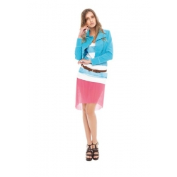 Short Jacket - Amy Gee - Jassen - Blauw