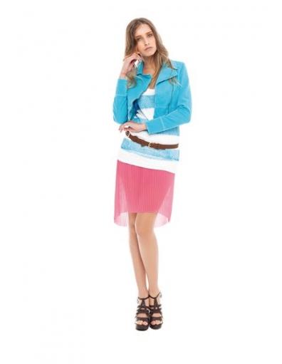 Short Jacket  - Amy Gee - Jassen - Blauw