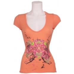 Tavy J284C S323 080 - Met Jeans - T-shirts - Oranje