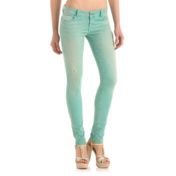 STARLET SKINNY LIGHT Fruit Dr. Ermer Patch - Guess - Jeans - Groen