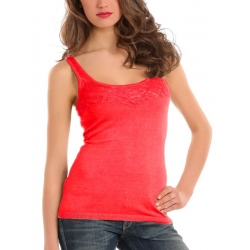 Guess - Ivie tank - Rood/Red