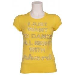 T-shirt m-m sachery day - Phard - T-shirts - Geel