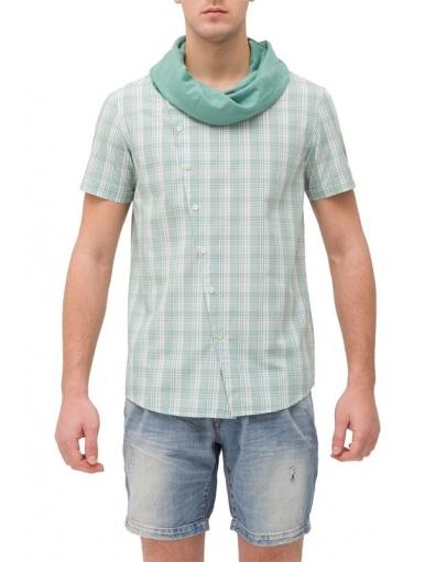 Bollywood overhemd t-shirt - Antony Morato - Overhemden - Groen