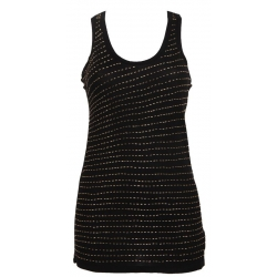 Canotta Irima Gold - Phard - T-shirts - Zwart