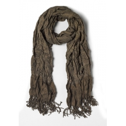 Scarf with wrinkled effect - Antony Morato - Accessoires - Groen