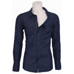 Uphill Denim - Shirt Jacket - Zumo - Overhemden - Blauw