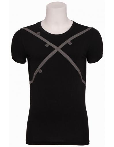 Axbridge - T-shirt S/S roundneck - Zumo - T-shirts - Zwart