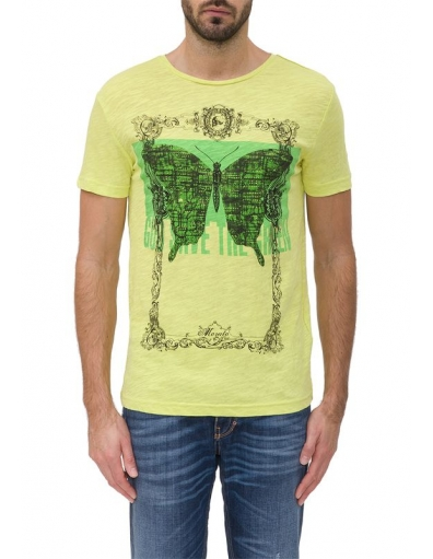 SAVE THE GREEN - Antony Morato - T-shirts - Geel