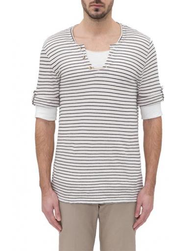 WHITE SAINT TROPEZ - Antony Morato - T-shirts - crème