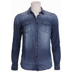 7010 DENIM - Antony Morato - Overhemden - Blauw