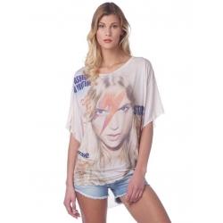David J113 S498 012 - Met Jeans - T-shirts - Roze