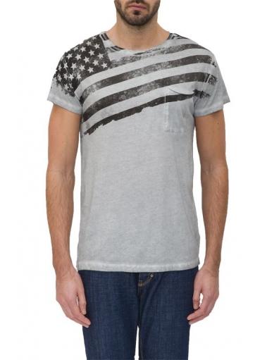 9011 PULP FASHION SHIRT - Antony Morato - T-shirts - Grijs