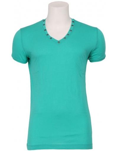 4017 MINIMAL ROCK - Antony Morato - T-shirts - Groen