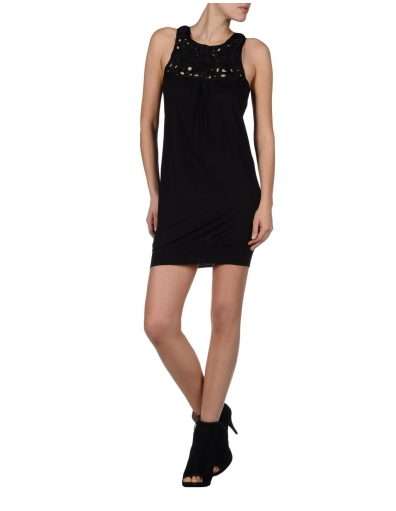 Miss Sixty jurk - Marlene Dress - Zwart / Black