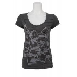 Dept t-shirt - Overdyed - Grijs - Grey