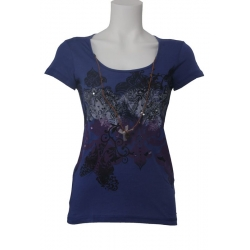 Dept t-shirt Lovely Paars-Purple