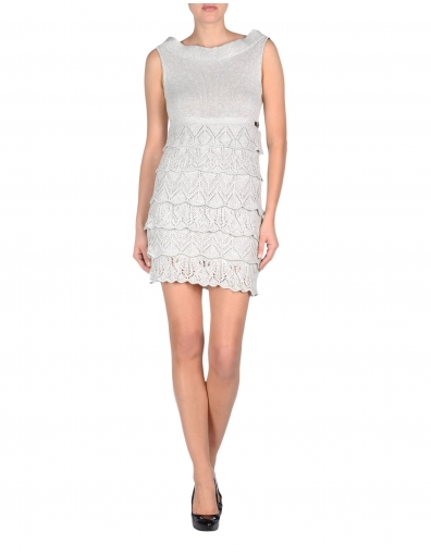 Jurk Miss Sixty - Ginevra dress - Grijs / Grey