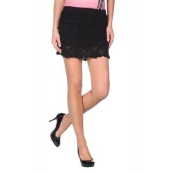 Miss Sixty rokje/top - Giuliet Knit Skirt - Zwart - Black