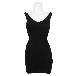 Guess - Lacey Double V Dress - zwart/black