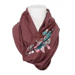 Dept - shawl - mauve
