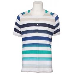 T-shirt JC Rags - knoopjes - Uniform Blue