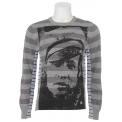 Pepe jeans trui - By Andy Warhol - Grey