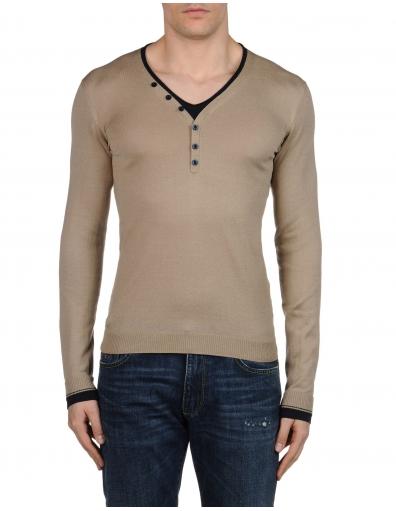 Energie - Kooisgg V-neck pullover - Bruin / Brown