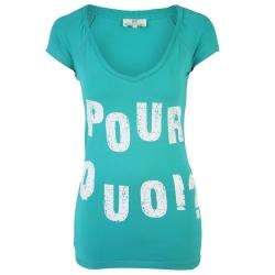 Dept t-shirt Pour Quoi Groen-Green