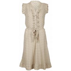 Dept jurk Sand-zandkleur
