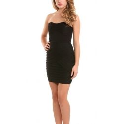 Guess - Olivia Dress strapless - zwart/black