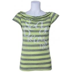 Dept shirt - Sea of Dream - Lime groen