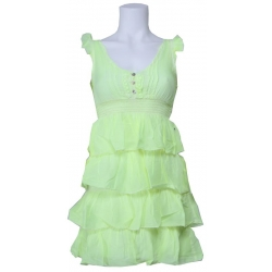 Dept jurk - Light Dress - Lime Groen