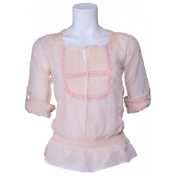 Dept blouse - Pale - Zalm