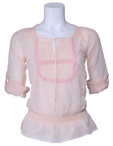 Dept blouse - Pale - Zalm