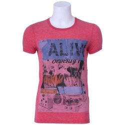 T-shirt Pepe Jeans - Ibanez - Rood - Red