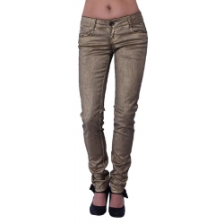 Dept - Woven Trousers - Goud