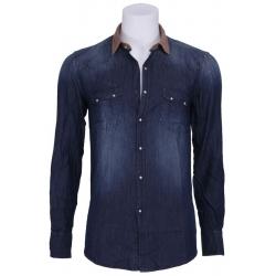 Denim Sushi Bar - Antony Morato - Overhemden - Blauw