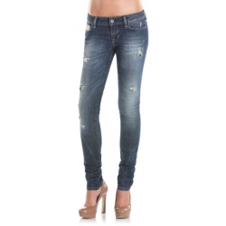 Starlet skinny Dark destroy black